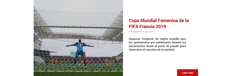 Copa Mundial Femenina de la FIFA Francia 2019